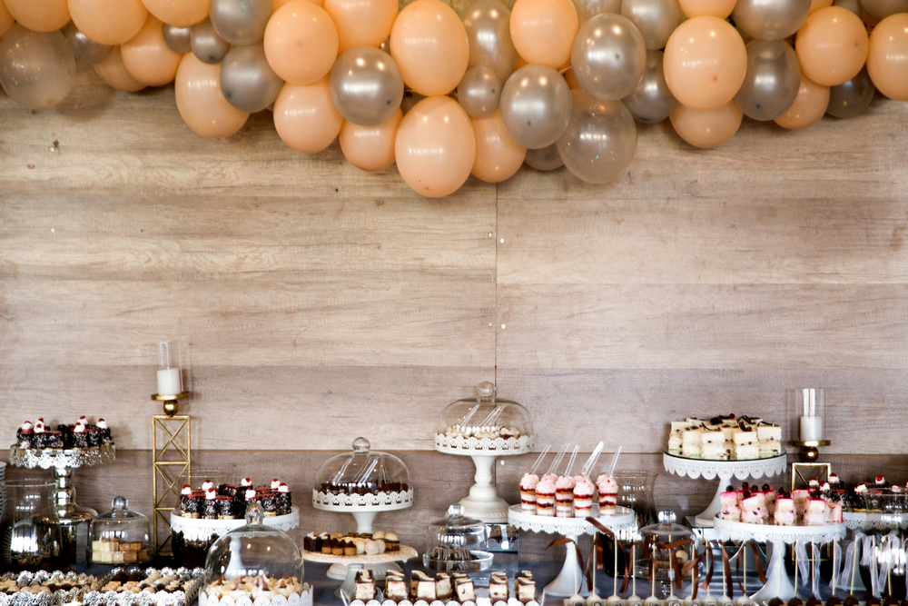 decor candy bar baloane