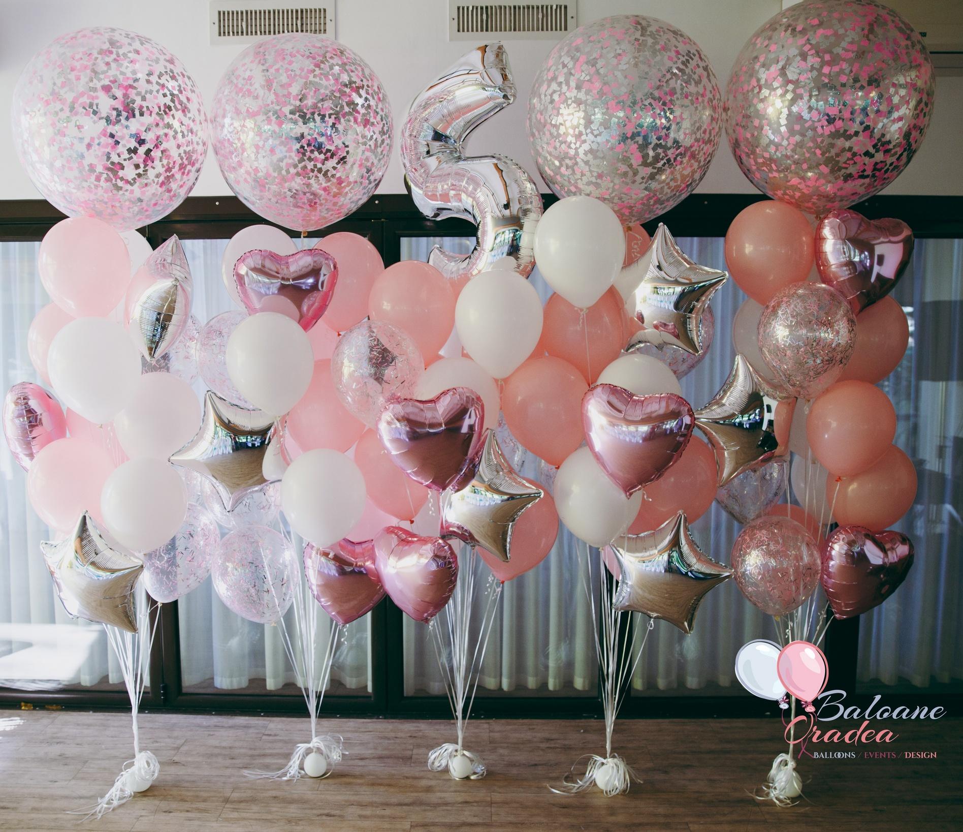 baloane aniversati heliu folie