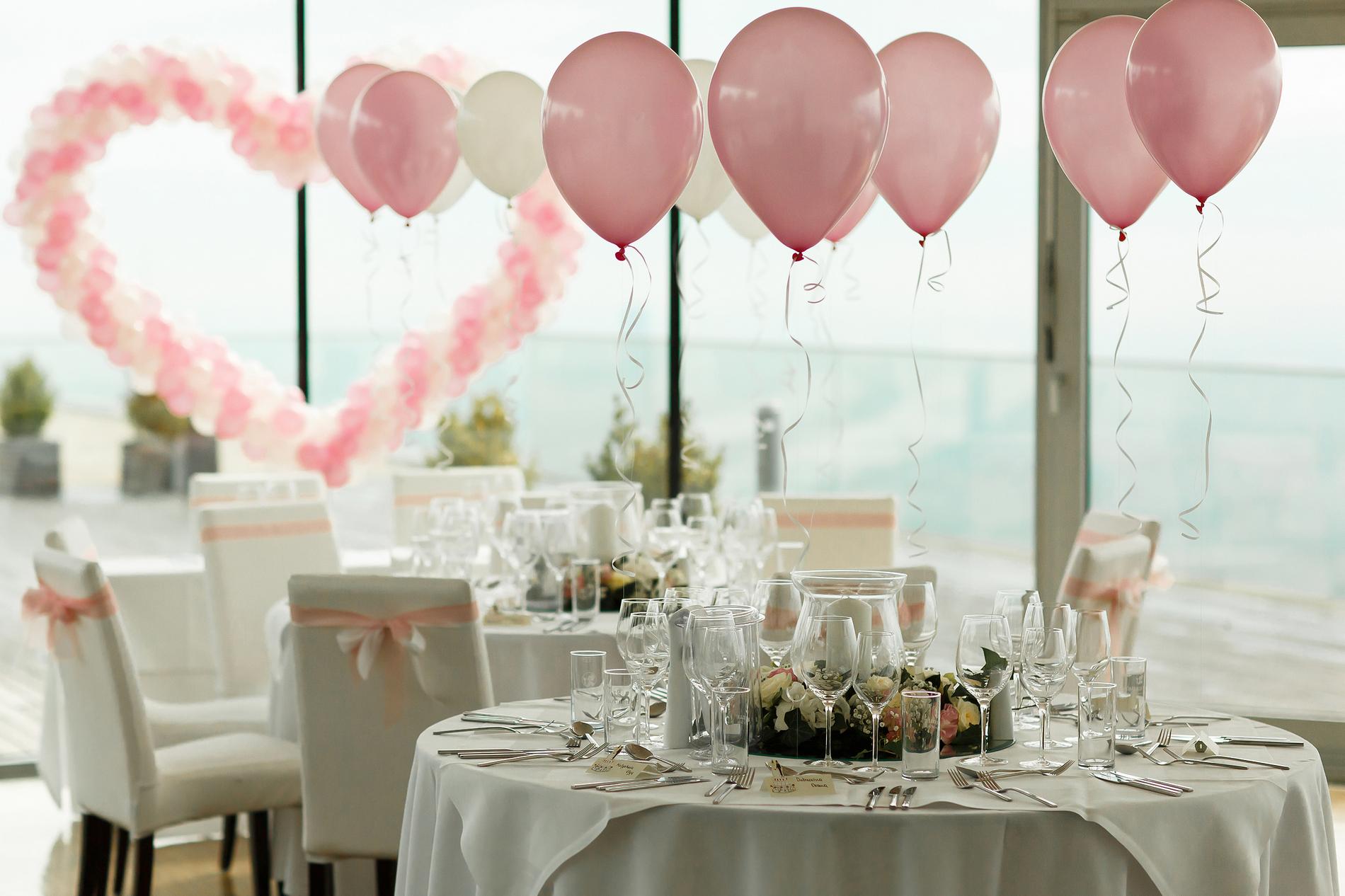 decor baloane nunta